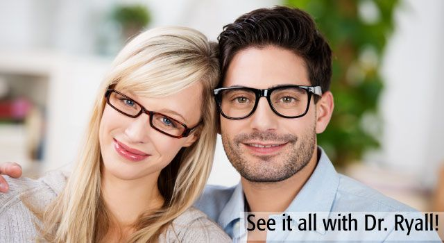 See it all with Dr. Ryall! | Couple wearing glasses